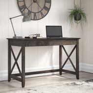 Bush Furniture Key West 48W Writing Desk in Dark Gray Hickory - KWD148GH-03