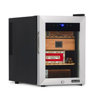 NewAir NewAir 250 Count Electric Cigar Humidor Wineador in Stainless Steel with Opti-Temp Heating and Cooling Function - NCH250SS01