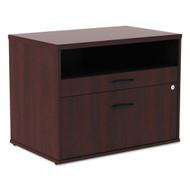 Alera Low File Cabinet Credenza Mahogany - ALELS583020MY