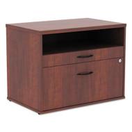 Alera Low File Cabinet Credenza Medium Cherry - ALELS583020MC