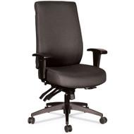 Alera Wrigley Series 24/7 High Performance High-Back Multifunction Chair Black - ALEHPT4101