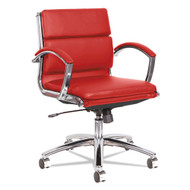 Alera Neratoli Low-Back Slim Profile Chair Red - ALENR4739