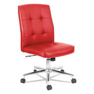 Alera Slimline Swivel/Tilt Task Chair Red - ALENT4936