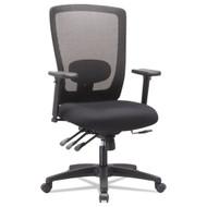 Alera Envy Series Mesh High-Back Multifunction Chair Black - ALENV41M14