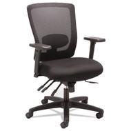 Alera Envy Series Mesh Mid-Back Multifunction Chair Black - ALENV42M14