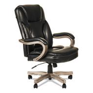 Alera Transitional Series Executive Wood Chair Black - ALETS4119G