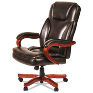 Alera Transitional Series Executive Wood Chair Chocolate Marble - ALETS4159W
