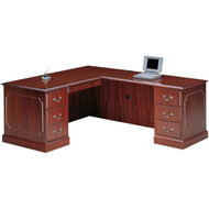 """HON 94000 Series L Shaped Desk Workstation with 42"""" Right Return 72"""" x 78"""" - HONPackage4"""