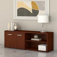 Bush Furniture Low Wall Storage Cabinet Hansen Cherry - SCS160HC