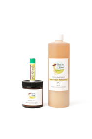 Home and Body Gift Set includes : Shea Nut Butter, All Purpose Household Cleaner and Lip Balm