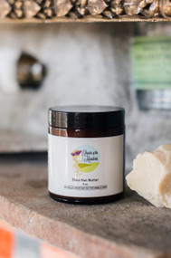 Shea Nut Butter, raw wild-crafted, 4 oz