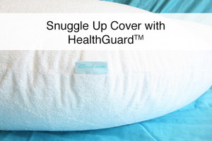 "Premium Bamboo Terry Pillow Cover with HealthGuard for ""The Snuggle Up Pillow"""