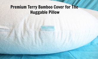 "Premium Bamboo Terry  - Pregnancy and Nursing/Feeding Pillow Cover for ""The Huggable Pillow"""