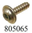 1A26, 4.0x13, 506513 TP30 Screw Steel T20 Drive PF11 Flange Zinc Clear 805065 [100PK]