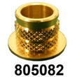 "805082 FOR M5-M8 OR 3/16""-5/16"" Compression Limiter CLFR 12.4D x 10H X ID9.3 MATL BRASS INSERT [5PK]"