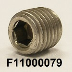 F11000079, 1/16-25, SS316, PIPE PLUG SOCKET HEAD, COO:US