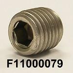 F11000079, 1/16-25, SS316, PIPE PLUG SOCKET HEAD, COO:US