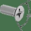 DIN 965, ISO 7046-2 FH SCREW