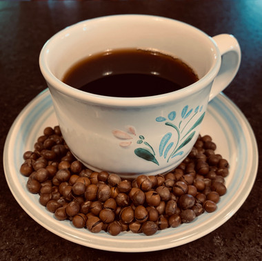 Dark roasted Lauracoffee made with Laura® Soybeans