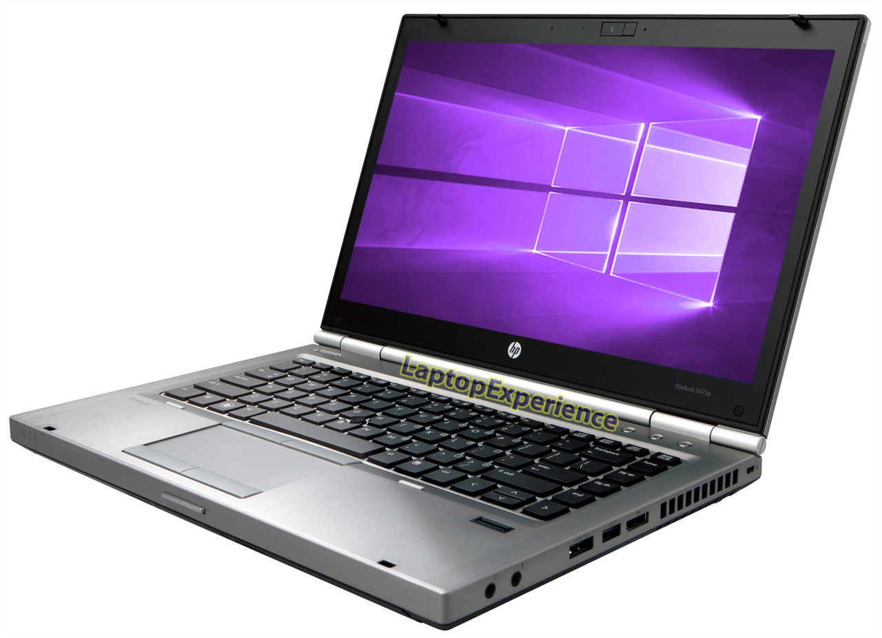 HP Elitebook 8470p Laptop - Intel Core i5 2 6GHz - DVD - Choose your specs