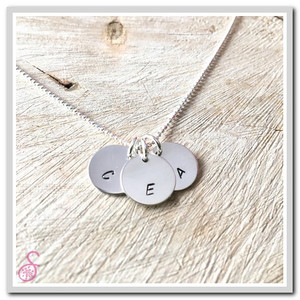 A three disk version of the Initial Necklace