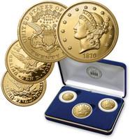 3-piece Gold Clad Carson City Tribute Proof Set