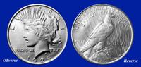 1924 Peace Dollar Uncirculated