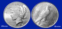 1925 Peace Dollar Uncirculated