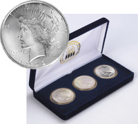 The Peace Dollar Mint Mark Set