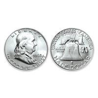 Brilliant Uncirculated Franklin Silver Half Dollar