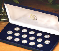 Franklin Half Dollar Date Set
