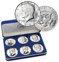 JFK 40% Silver Half Dollar Set