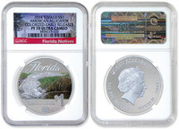 2014 Silver Alligator Dollar