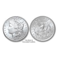 1879-CC Morgan Silver Dollar - Collector's Circulated Condition