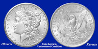 1891-CC Morgan Silver Dollar - Collector's Circulated Condition