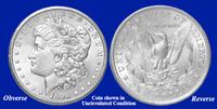1896-O Morgan Silver Dollar - Collector's Circulated Condition
