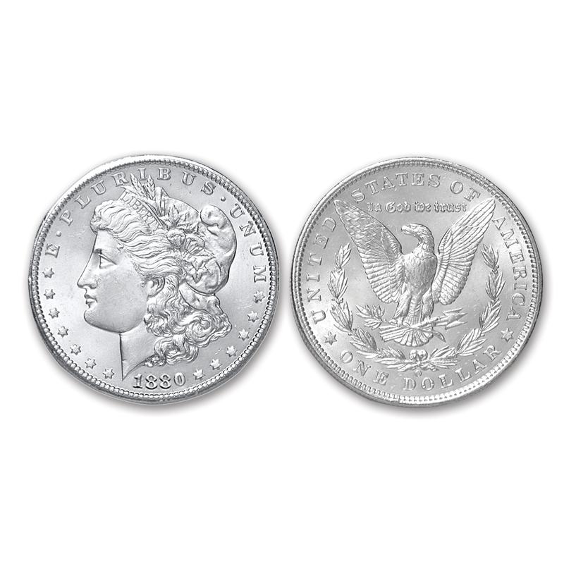 BU 1899-O Morgan Silver Dollar Brilliant Uncirculated