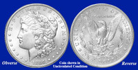 1884-P Morgan Silver Dollar - Collector's Circulated Condition