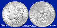 1887-P Morgan Silver Dollar - Collector's Circulated Condition