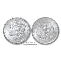 1891-P Morgan Silver Dollar - Collector's Circulated Condition
