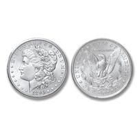 1896-P Morgan Silver Dollar - Brilliant Uncirculated Condition