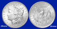 1897-P Morgan Silver Dollar - Brilliant Uncirculated Condition
