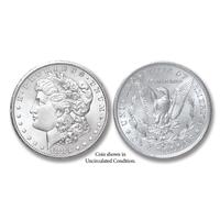 1883-S Morgan Silver Dollar - Collector's Circulated Condition