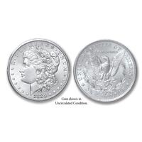 1886-S Morgan Silver Dollar - Collector's Circulated Condition