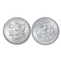 1890-S Morgan Silver Dollar - Brilliant Uncirculated Condition