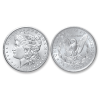 1921-S Morgan Silver Dollar - Brilliant Uncirculated Condition