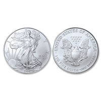 1986 Brilliant Uncirculated Silver Eagle Dollar