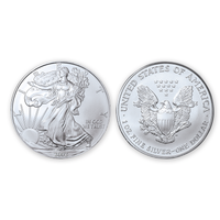 2002 Brilliant Uncirculated Silver Eagle Dollar