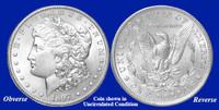 1897-P Morgan Silver Dollar - Collector's Circulated Condition