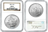 CI 1964 Morgan Dollar - National Collector's Mint